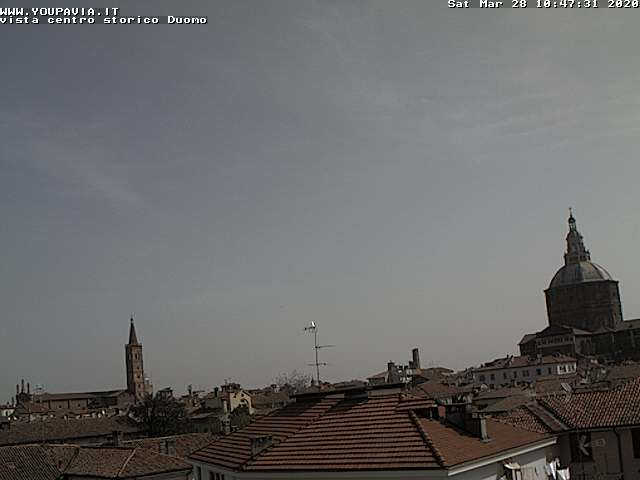 Webcam di Pavia a cura di www.youpavia.it