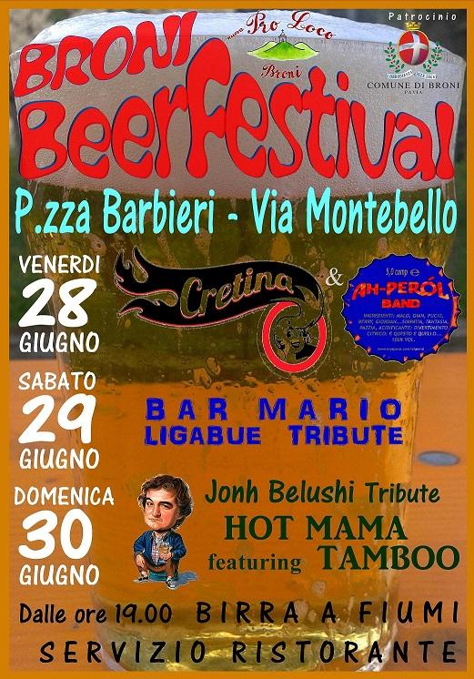 BRONI BEER FESTIVAL – 28/29/30 GIUGNO