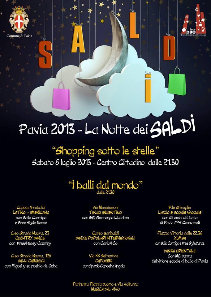 NOTTE DEI SALDI PAVIA 2013