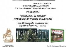 REGISOLE TICINN CANNTAL Rassegna poesie dialettali