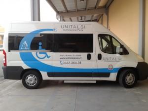 Unitalsi Pavia Nuovo pulmino per disabili