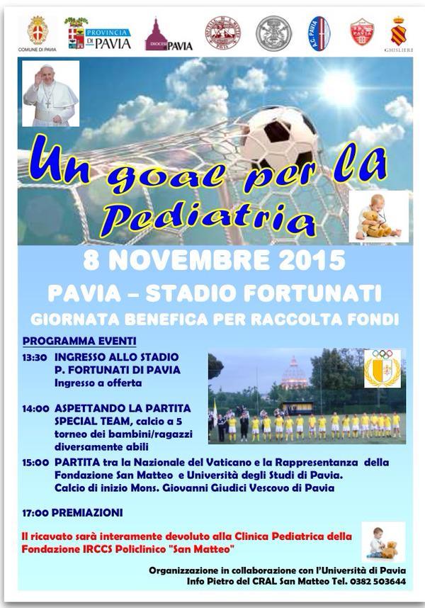 vaticano calcio pediatria
