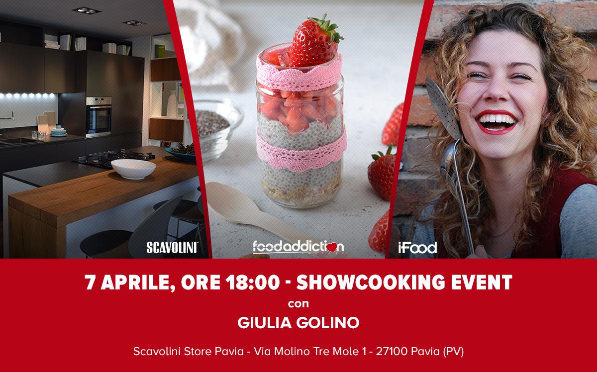 Coocking show con Giulia Golino, alla scoperta della Chia