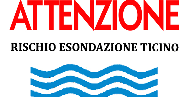 Pavia Fiume Ticino pericolo esondazione 2018