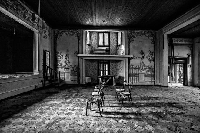 EXIT hotel fantasma in provincia di Pavia foto di Marcella MILANI