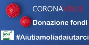 donazione fondi coronavirus Pavia